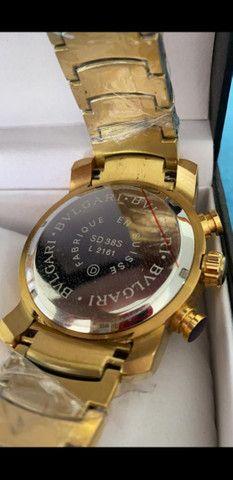 Relógio BVLGARI Cobra a prova d'água 100% funcional - Foto 4