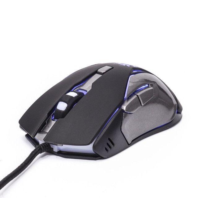 Mouse Gamer Knup V34 Para Jogos Óptico 6 Botões Led - Foto 2