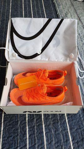 Tênis Nike Air Zoom Alphafly Next% original 38 mango