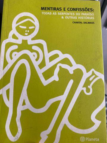 Livro Mentiras e Confissões - Chantal Dalmass