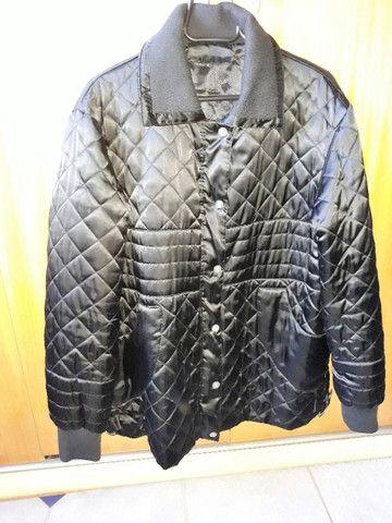 Jaqueta de Inverno Nylon Preta  - Foto 2