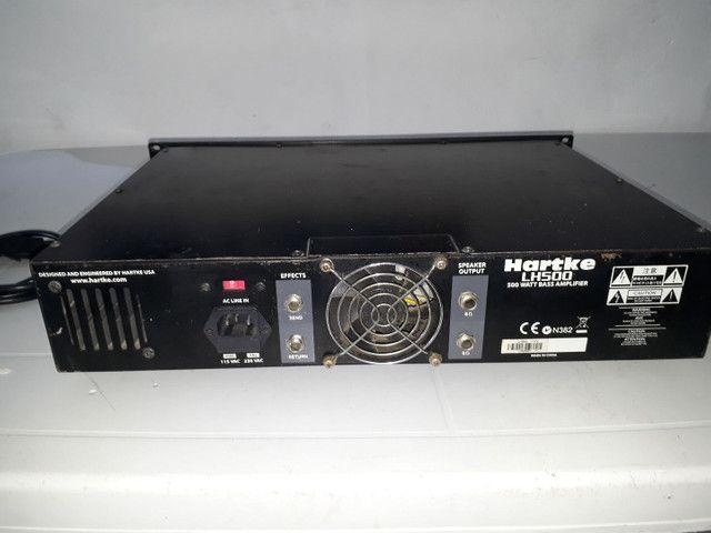 Amplificador cabeçote Hartke LH500  - Foto 2