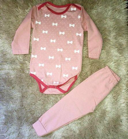 Conjuntos Longo bebê - Tati Moda infantil  - Foto 3