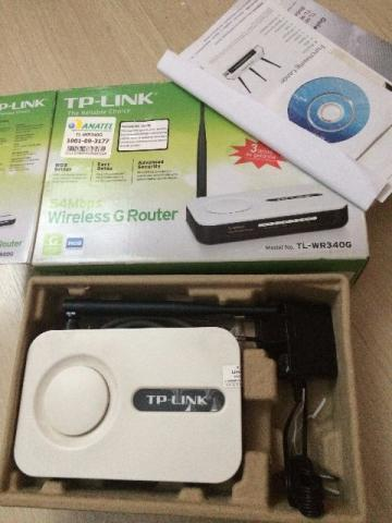 Roteador Wireless TP-Link TL-WR 340G