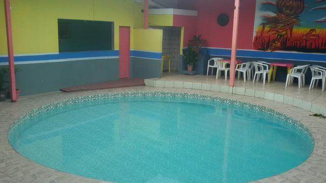 Espaço com piscina para o seu evento