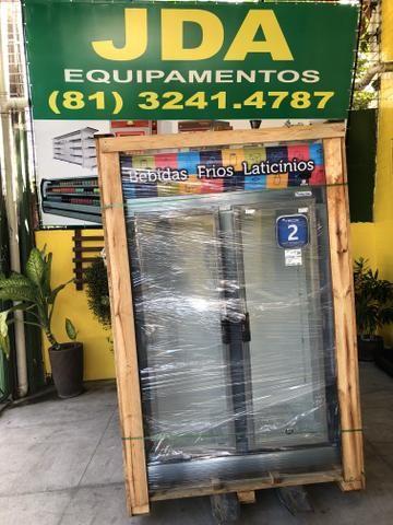Balcão auto serviço 2 portas / freezer - refrigerador vertical - marca fricon  - Foto 2