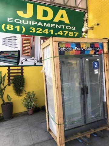 Balcão auto serviço 2 portas / freezer - refrigerador vertical - marca fricon  - Foto 5