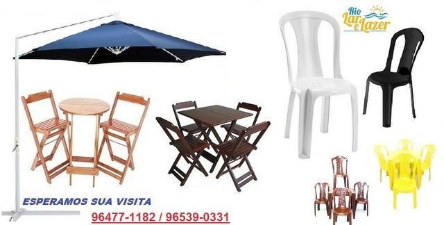 Masa e Cadeira Plástica