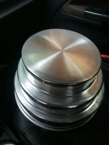 Forma redondas 3.peças