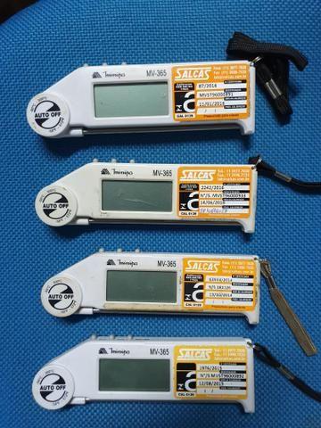 Termômetro digital dobrável