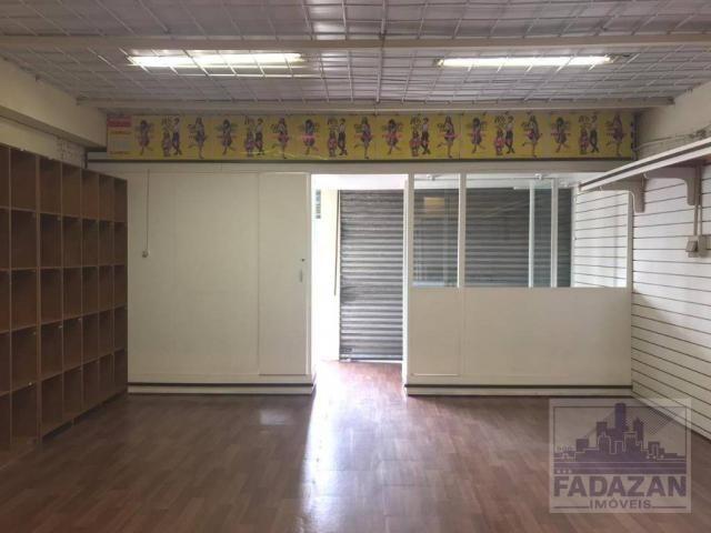 Loja para alugar, 74 m² por r$ 2.850,00/mês - pinheirinho - curitiba/pr - Foto 4