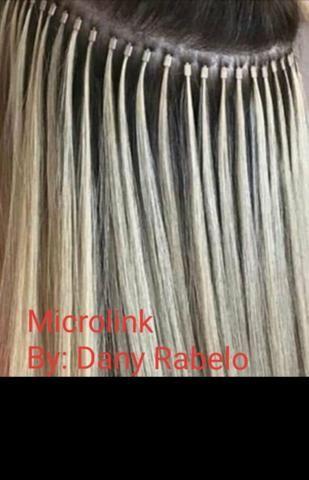 Mega hair ( Implante) E confecçao de nano pele - Foto 5