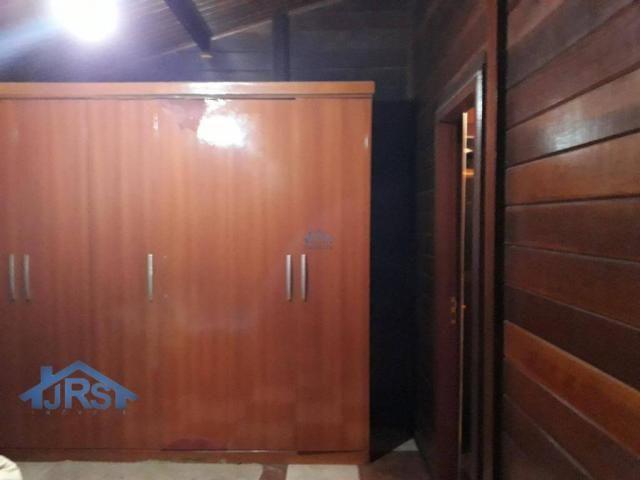 Chácara com 3 dormitórios para alugar, 3264 m² por r$ 5.800/mês - suru - santana de parnaí - Foto 16