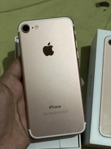 Vendo iPhone 7 rosê - Foto 3