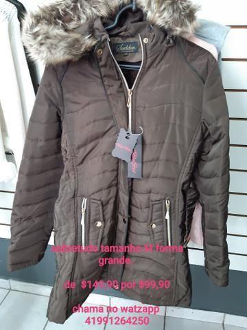 Lindas blusas sobretudo, casaco, jaqueta na promoção para o dia a dia - Foto 2