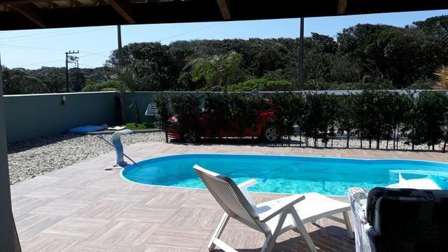 Casa Temporada com Piscina Praia do Ervino SC - Foto 13