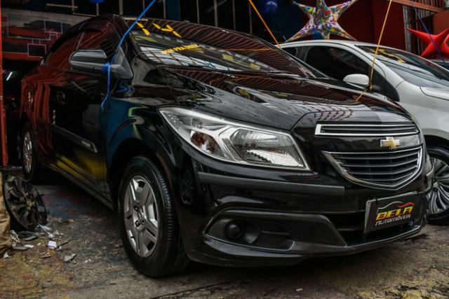 Chevrolet Prisma LT Completo Flex Mec. + GNV + 2019 Vist