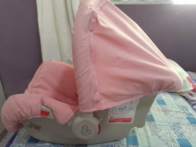 Bebê conforto Piccolino Galzerano Rosa