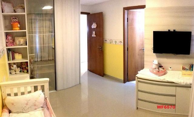 AP0967 Torre Espanha, apartamento na Aldeota, 3 suítes, móveis projetados, 2 vagas - Foto 13