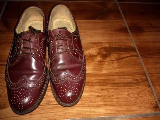 969fac5ea Sapato de couro da Fascar, cor vinho - Roupas e calçados - Jardim ...