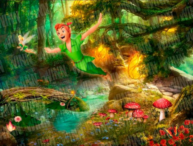 Painel de Festa Infantil Meninos Peter Pan Thor Dragon Ball Capitao America - Foto 3