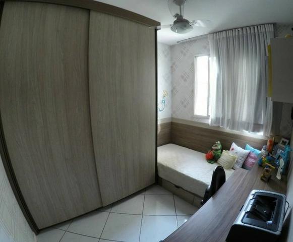 Excelente apartamento 2 quartos com 1 vaga de garagem em Valparaíso Serra/ES - Foto 3