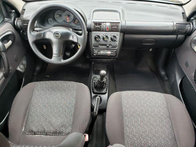 Chevrolet classic 1.0 completo vendo troco e financio R$ 18.900,00 - Foto 5