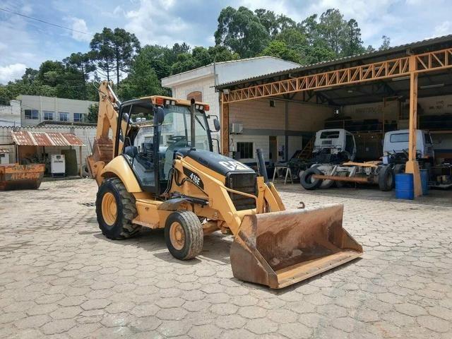 Retro escavadeira 416 e 4x2 Caterpilar - Foto 3