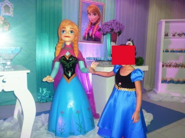 Vestido Da Ana Do Desenho Frozen Roupas E Calcados Lauro De