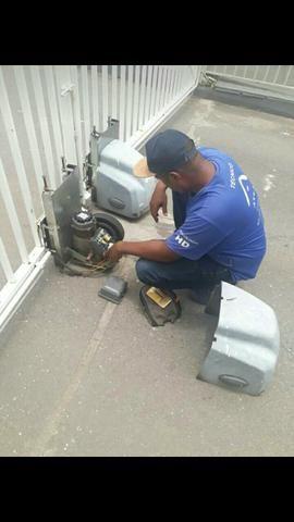 Fechadura eletrônica com trava de segurança - Foto 5