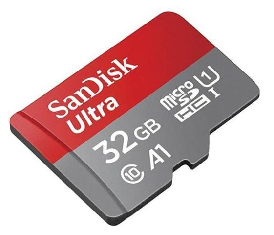 MicroSdhc UHS-I SanDisk Ultra 32GB com Adaptador - 98MB/s U1 A1 - Foto 3