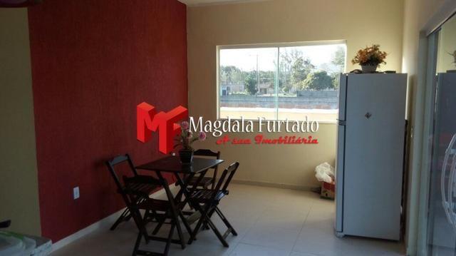 4030 - Casa de 4 quartos, rebaixada em gesso, total conforto em Unamar - Foto 3