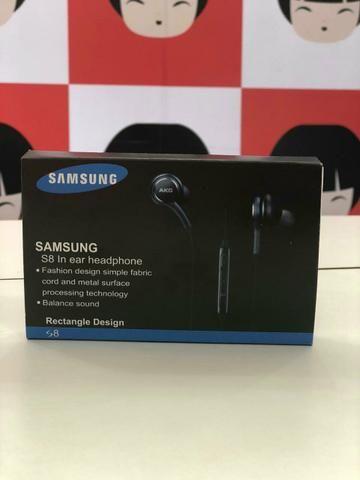 Fone com fio via p2 rép. Samsung