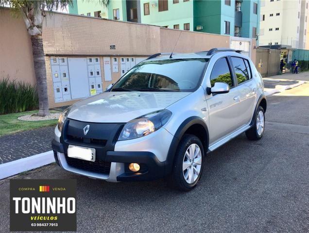 Renault Sandero Stepway 12/12 1.6 manual IPVA 2020 pago - Foto 8