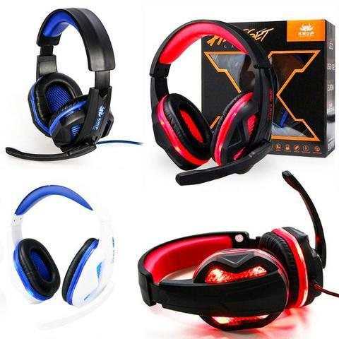 Fone Headset Gamer Pc Celular Ps4 Xbox One Knup P2 396 - Foto 5