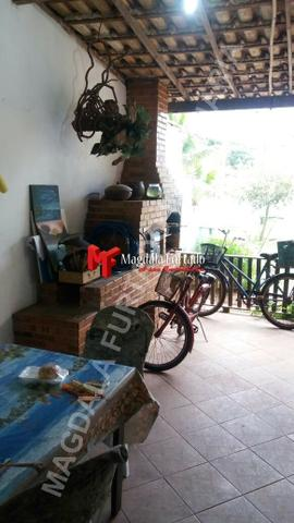 4028 - Casa de 4 quartos, área gourmet e fogão a lenha, total conforto Unamar - Foto 13