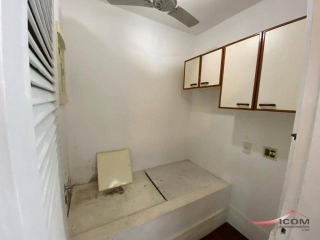 Apartamento com 3 dormitórios para alugar, 116 m² por R$ 2.900,00/mês - Botafogo - Rio de  - Foto 17