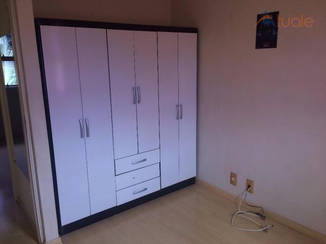 Casa com 2 dormitórios para alugar, 55 m² por R$ 1.000,00/mês - Parque Villa Flores - Suma - Foto 13