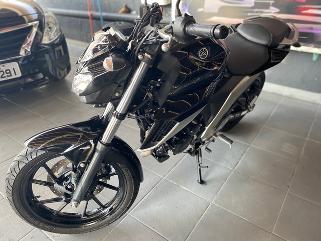 Yamaha FZ 25 Fazer Ano 20/ 20 Preta Flex