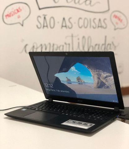 Notebook Acer/ I3 / 4GB / SSD 240GB / Tela de 15 - seminovo -Somos Loja Centro de NIterói - Foto 2