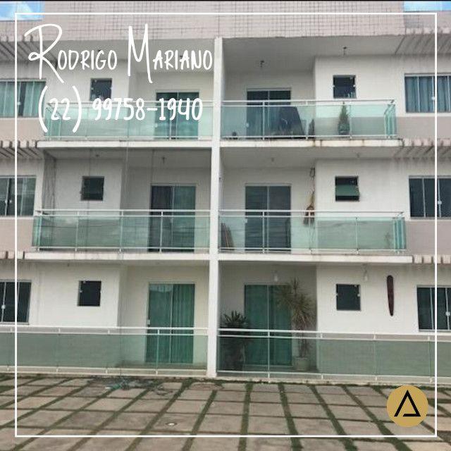 Alugo lindo apartamento de 2 quartos na Enseada em Rio das Ostras - Foto 11