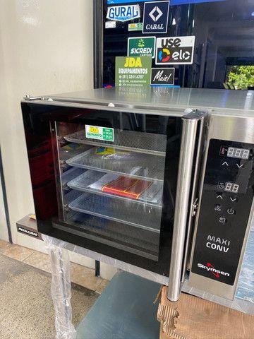 Forno de convecção com vapor ideal para cafeterias , padarias, lanchonetes - pão de queijo - Foto 3
