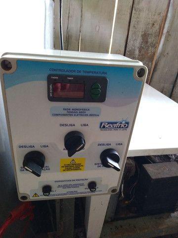 Resfriador reafrio 500 litros, ordenhadeira dois conjuntos - Foto 4
