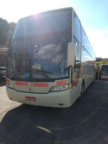 Onibus volvo LD busscar 2001/2002 j bu 400r 396 cv 44 lugares 2002 - Foto 9