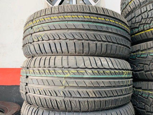 02 pneus remolde aro 205/55/16 Eco Tyres (instalação grátis)