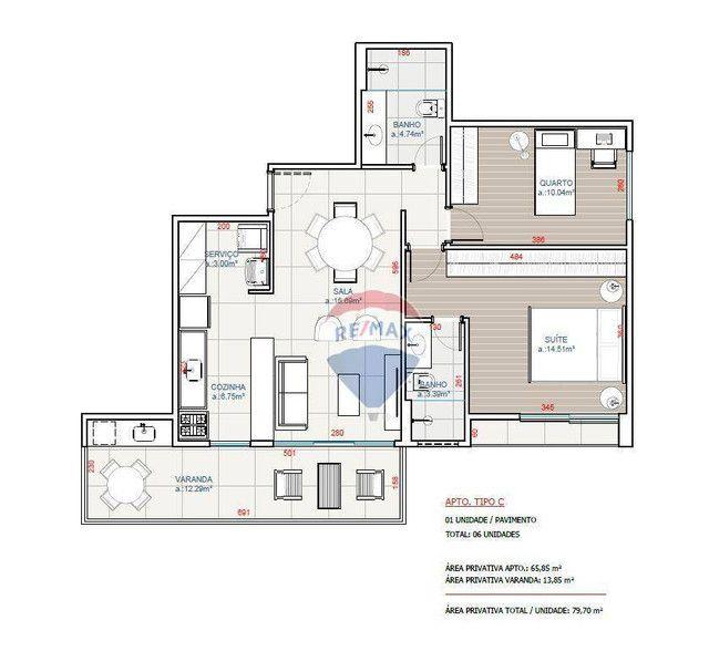 Apartamento com 2 quartos (1 suíte) à venda, 77 m² a partir de R$ 337.568 - Nova São Pedro - Foto 15