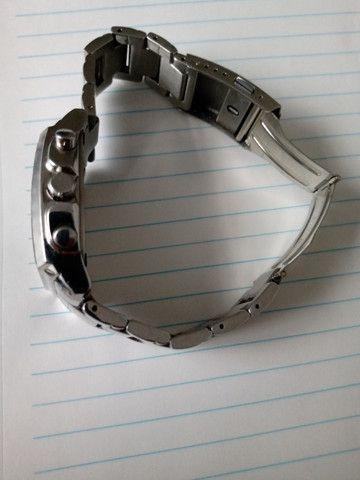 Relógio Casio Cronógrafo caixa retangular Raro. Baixei o Preço! - Foto 2