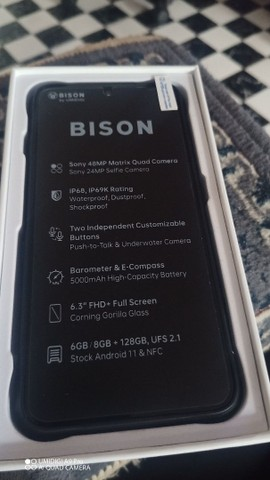 Vendo celular umidigi bision aprova de água