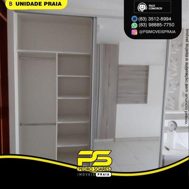 Apartamento com 3 dormitórios para alugar, 78 m² por R$ 3.500,00/mês - Tambaú - João Pesso - Foto 6