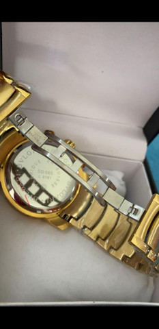 Relógio BVLGARI Coringa Dourado a prova d'água - Foto 6